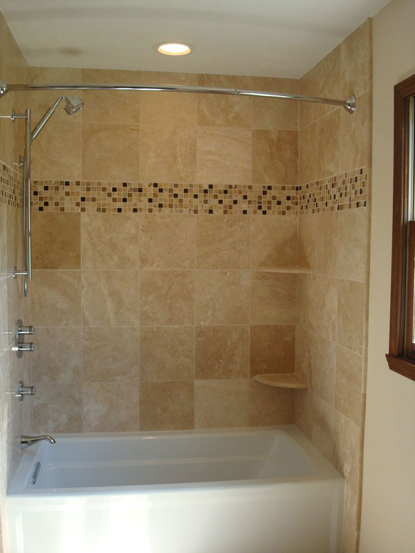 Awesome Replace Tub With Tile Shower Remove Bathtub In Walk ...